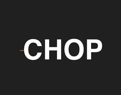 """Animated Text - """"Chop"""""""