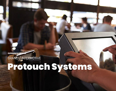 Protouch Systems branding, website & illustration
