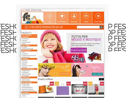 FE Shop Website + Video