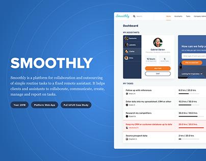 Smoothly - Web App UI/UX Case Study