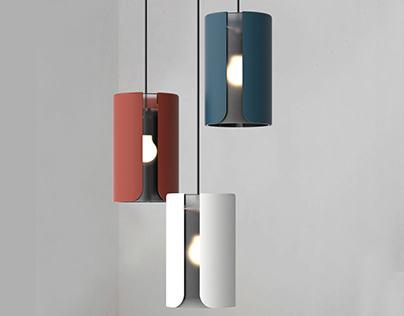 Sleeve: A pendant lamp
