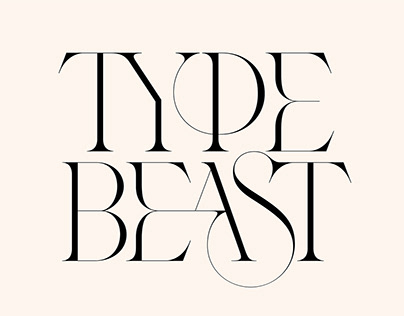 Type Beast / typography collection / 2019-2020