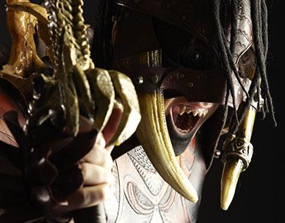 MURTHAG: Leather costume for LARP