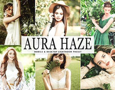 Free Aura Haze Mobile & Desktop Lightroom Preset