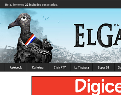 El Gallinazo Website