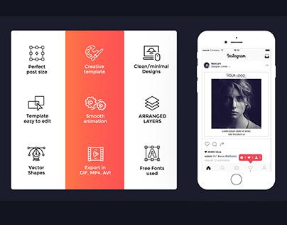 Social Media Loop Post Pack V.1 ( Neelpari )