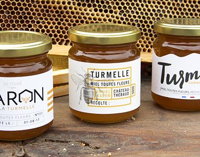 Turmiel - Packaging de miel pour un producteur local