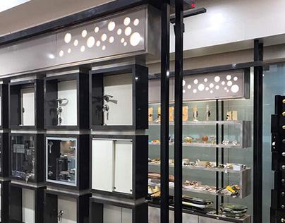 Hardware showroom