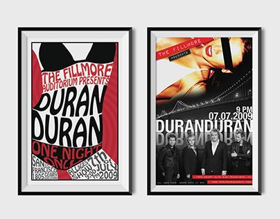 Duran Duran Poster Design