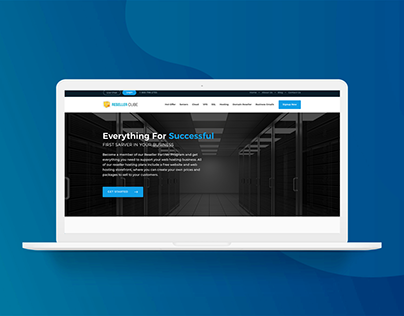 Resellercube Website Redesign