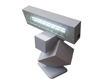 intersecting lamp
