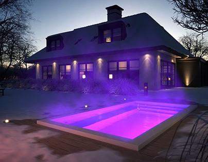 Mini Pools Blaauw Classic Style