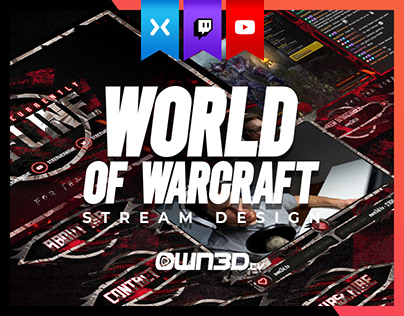 WOW - Horde Stream Design Pack for Twitch