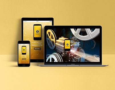 Web Responsive - App Sensacine
