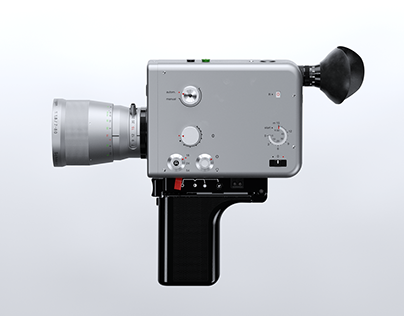 ▼▲ Once In A While Renders № 47 Nizo S 800 Braun Super8