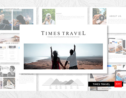 TIMES TRAVEL POWERPOINT TEMPLATE