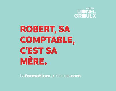 Campagne marketing formation continue - Collège Lionel-