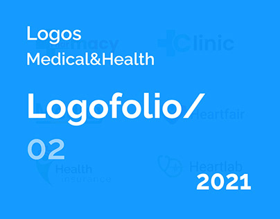 Medical and health care logo design
