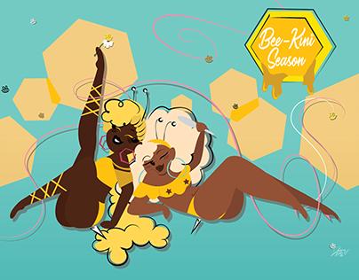 Bee-kini Season Pinup
