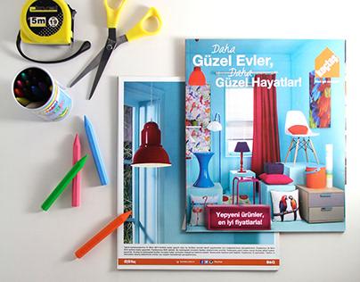 Koçtaş Dekorasyon Ekstra Katalog Tasarımı - 2014.