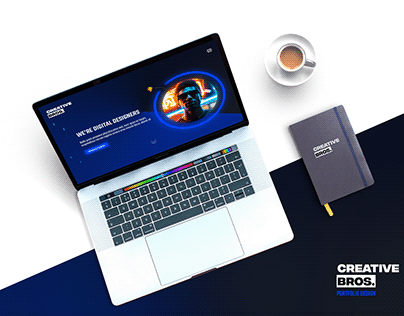 CreativeBros. Portfolio Design / PSD / Html Soon!