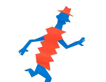 papercut character