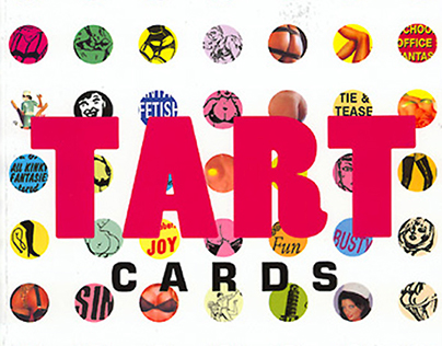BOOK COVER + INTERIOR: Tart Cards