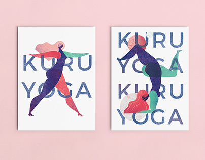Kuru Yoga Card Design