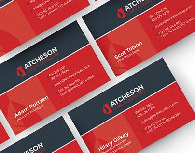 Atcheson Lawn & Landscape Rebranding
