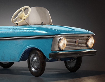 Moskvich Azlk ToyCar
