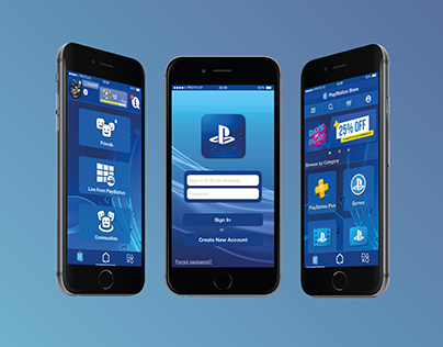 PlayStation App Redesign