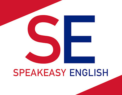 Speakeasy English. Diseño corporativo.