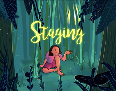 The Dance of Fireflies - Staging animation