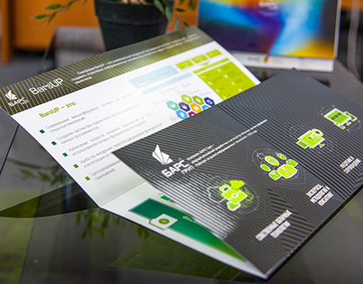 Leaflet for IT-company