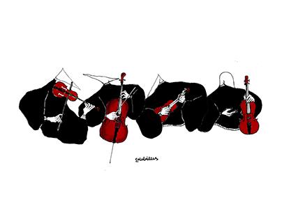 Musicians, String Quartet