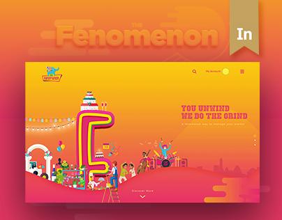 The Fenomenon - Website Design