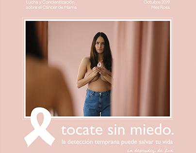 Campaña de Concientización Cancer de Mama