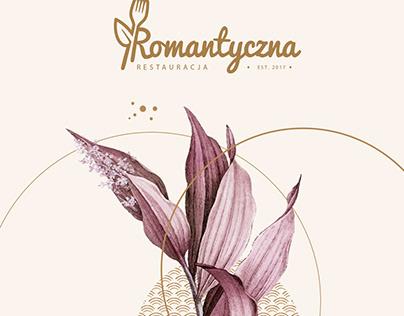 Romatyczna - visual identification of the restaurant