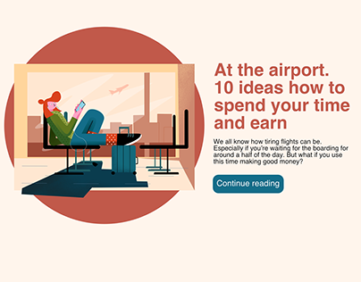 Web & article illustrations