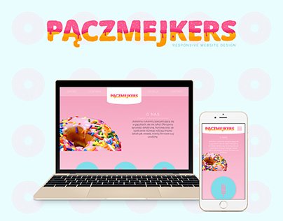 Responsive one page layout - bakery