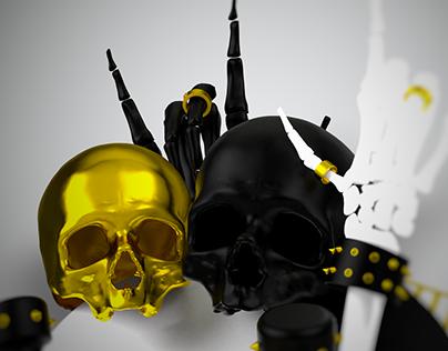 Black & Gold Halloween