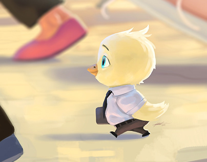 Birdy - Character Illustration