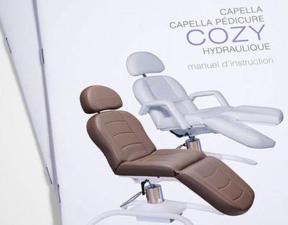 manuel fauteuil cozy