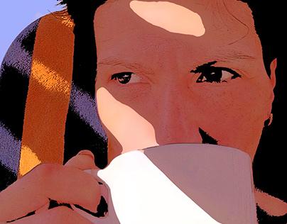 Woman Image Vectorization