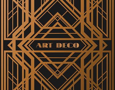 Gatsby Art Deco | Illustration