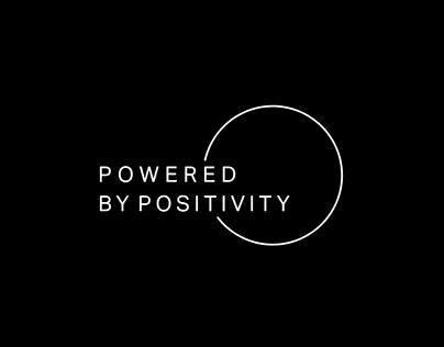 Powered by Positivity Logo Design