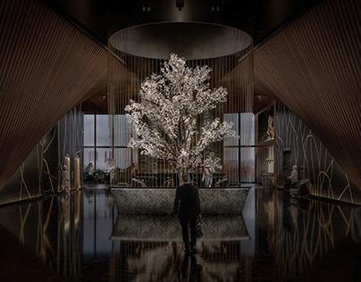 Concept Hotel Lobby