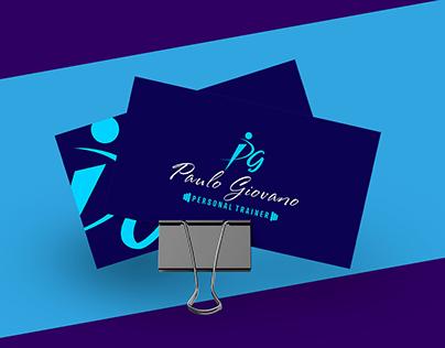 Logotipo Personal Trainer Paulo Giovano