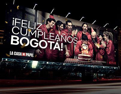 HAPPY BIRTHDAY BOGOTÁ