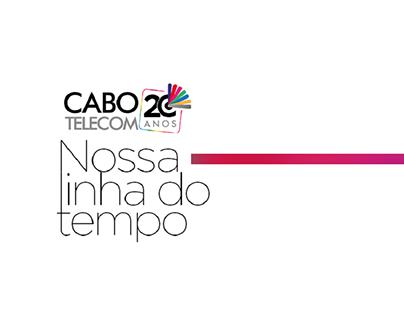 Campanha 20 anos   Cabo Telecom